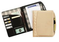 Junior Padfolio w/ Interior Organizer & Pen Loop - Savvy