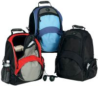 Laptop Backpack w/ Accessory Pockets - 600D Polyester