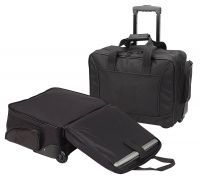 Rolling Laptop Briefcase w/ Multiple Pockets - Scan Express