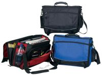 Laptop Briefcase w/ Accordion File & Zip Pockets - Monsoon