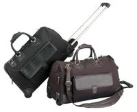 Rolling Duffle Bag w/ Multiple Pockets - 22 Inch - Prestige Pilot