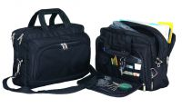 "Laptop Briefcase w/ Removable 17"" Sleeve - 1680D Nylon"