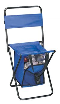 Cooler Chair w/ Front Mesh Pocket - Carry Handle - 420D Nylon