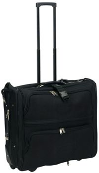 Rolling Garment Bag w/ Multiple Pockets - 1800D Polyester