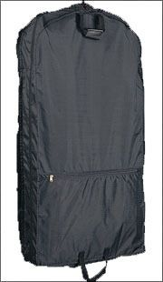 "40"" Garment Bag w/ Two Heavy Duty Hangers - 210D Nylon"