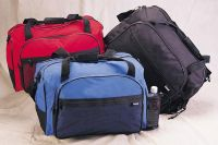 "Sport Duffle Bag w/ Tennis Racket Pocket - 19 1/2"" - The Match"