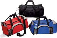 Sport Duffle Bag w/ Wet Pocket - 21 Inch - 600D Polyester