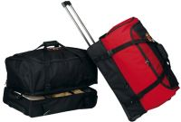 Rolling Duffle Bag w/ Double Compartments - 26 Inch