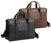 Leather Laptop Briefcase w/ Extractable Sleeve - Bellino Insider