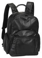 Leather Laptop Backpack w/ Piggyback Tablet Sleeve - Bellino