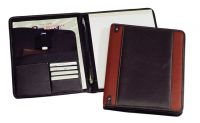 Leather Padfolio w/ Interior Pockets - Bellino New Yorker