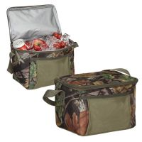 Camo Cooler w/ Open Front Pocket & Carry Strap