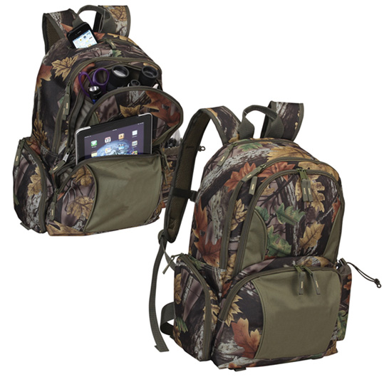 Camo Laptop Backpack W Padded Table Amp Laptop Sleeves
