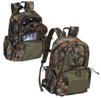 Camo Laptop Backpack w/ Padded Table & Laptop Sleeves