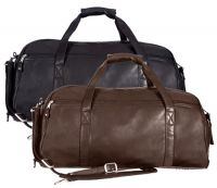 Leather Duffle Bag w/ Pockets - Canyon Outback Marble Sport