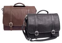 Leather Laptop Briefcase - Canyon Outback Willow Rock