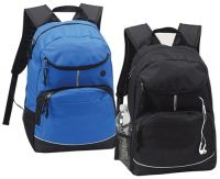 School Backpack w/ Organizer - iPod Pocket - Padded Back