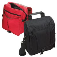 Netbook Messenger Bag w/ Padded Sleeve - 600D Polyester