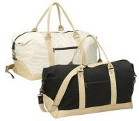 Cotton Duffle Bag w/ Lined Interior - 21 Inch - All Purpose