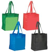 Medium Grocery Tote Bag - Recycled Material - Eco Dot