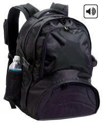 Audio Backpack w/ Padded Laptop Section - G-Tech DJ