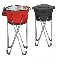 Barrel Cooler w/ Collapsible Stand - Soft Sided - 600D Polyester
