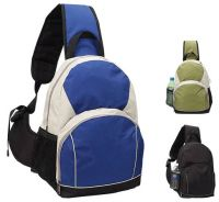 Sling Backpack w/ Headphone Port - Recycled Pet Material