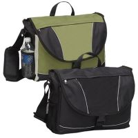 Laptop Messenger Bag w/ Zip Pockets & Organizer - Fits 15.4""