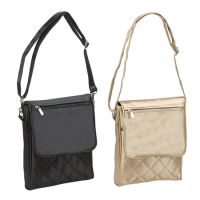 Mini Messenger Bag w/ Magnetic Closure - Silky Satin - Savvy