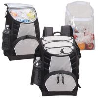 Backpack Cooler w/ Removable Clear Liner - Soft Sided