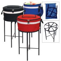 Barrel Cooler w/ Ring Stand & Metal Frame - Soft Sided