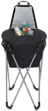 Barrel Cooler w/ Top Access Pocket & Metal Frame
