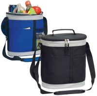 Bottle Cooler w/ Padded Shoulder Strap - Oval