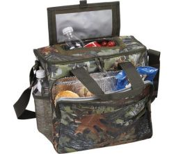 Camo Cooler w/ Hot & Cold Sections - 24 Pack