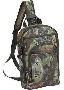Camo Sling Backpack W Tablet Sleeve Amp Multiple Pockets