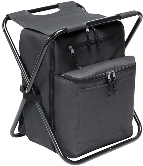 Cooler Chair Backpack Combo W Padded Tablet Sleeve