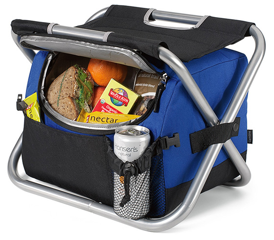 Cooler Chair W Padded Seat Collapsible Spectator