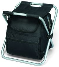 Cooler Chair w/ Padded Seat - Collapsible - Spectator Deluxe