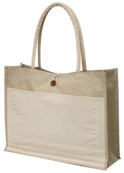 "Cotton Tote Bag - 18"" Wide - Lightweight"