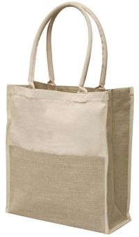 "Cotton Tote Bag - 14"" Wide - Lightweight"
