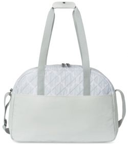 Duffle Bag w/ Lined Interior - Quilted - Madeline