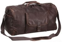Duffle Bag w/ Tapered Handles - Faux Leather - Mason