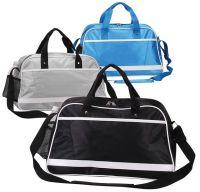Duffle Bag w/ White Vinyl Accents - All Purpose - Retro