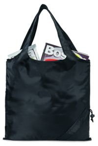 Foldable Grocery Tote Bag w/ Drawstring Pouch - Latitudes