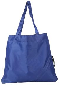 Foldable Tote Bag w/ Drawstring Triangle Corner - Nylon