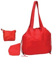 Foldable Tote Bag - Lightweight Nylon - Take Anywhere