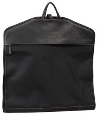 Garment Bag w/ Napa Leather Trim - Bellino