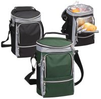 Golf Cooler w/ Hot & Cold Compartments - Soft Sided