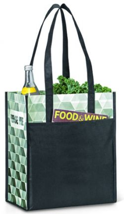 Grocery Tote Bag - Non Woven Material - Horizons Laminated