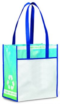 Grocery Tote Bag - Recycled Material - Vita Laminated